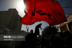 مراسم راهپیمایی جاماندگان اربعین حسینی(ع) در تهران-۵