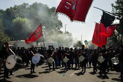 مراسم راهپیمایی جاماندگان اربعین حسینی(ع) در تهران-۶
