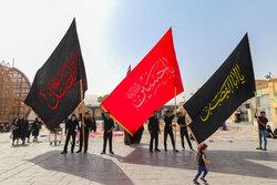 پیادهروی جاماندگان اربعین حسینی در یزد