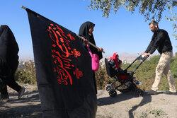 پیاده روی و عزاداری جاماندگان اربعین حسینی در تبریز
