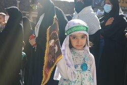 راهپیمایی جاماندگان اربعین حسینی در سمنان برگزار شد