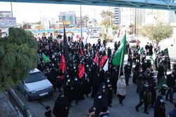 دروازه نجف میزبان قدمهای جاماندگان اربعین حسینی