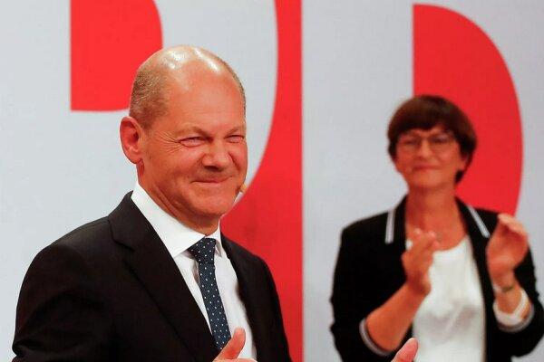 جرمنی کے عام انتخابات میں سوشل ڈیمو کریٹک پارٹی نے کامیابی حاصل کرلی