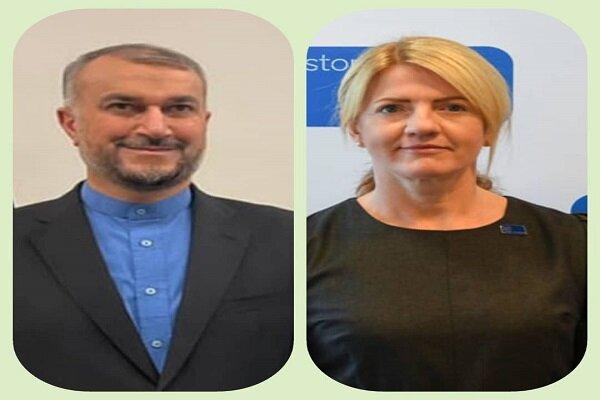 Estonian, Georgian FMs felicitate Amir-Abdollahian