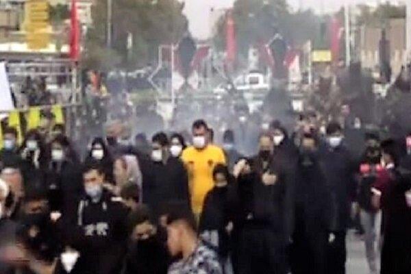 پیادهروی جاماندگان اربعین در مشهد آغاز شد