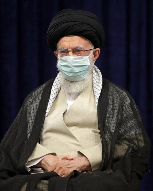 قائد الثورة يحيي عزاء ذكرى اربعين الامام الحسين (ع)/ بالصور
