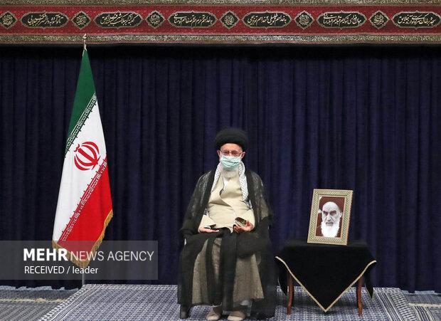 İslam Devrimi Lideri'nin huzurunda Erbain Matemi Töreni düzenlendi