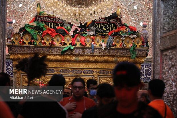 عزاداری شب اربعین در کربلا