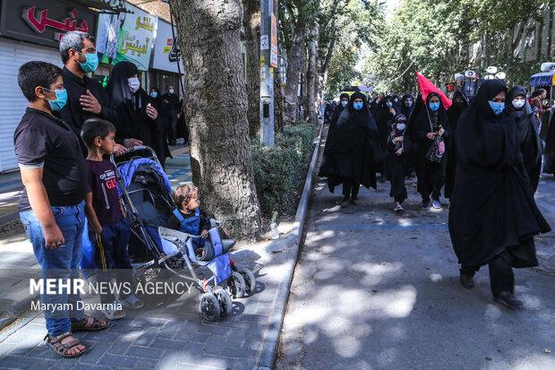 مراسم عزاداری جاماندگان اربعین حسینی در بجنورد
