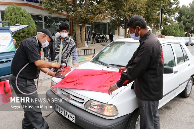 راهپیمایی جاماندگان اربعین در مشهد
