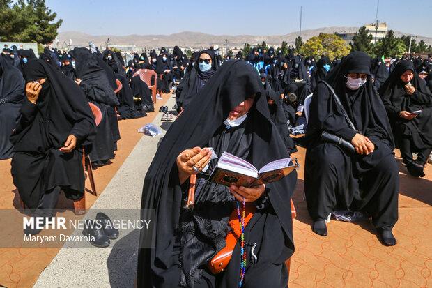قرائت زیارت اربعین حسینی در بجنورد