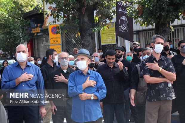 تجمع عاشورائیان اربعین حسینی  در انزلی