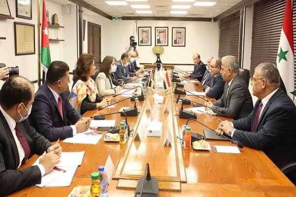 مباحثات سورية أردنية في عمان لتعزيز التعاون الثنائي بين البلدين
