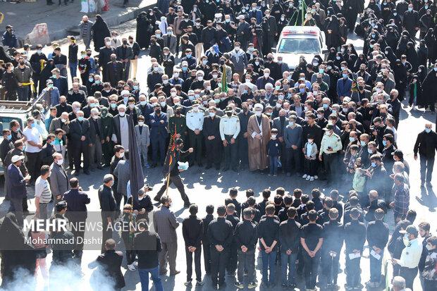 پیاده روی جاماندگان اربعین در اردبیل