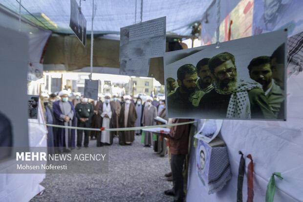 نمایشگاه شهدای طلبه در بیرجند