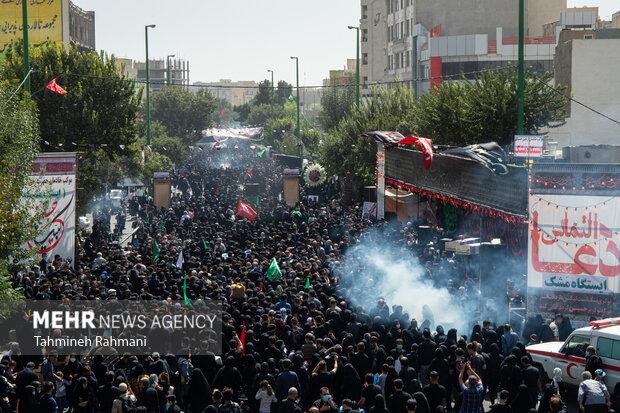 مراسم راهپیمایی جاماندگان اربعین حسینی(ع) در تهران-6