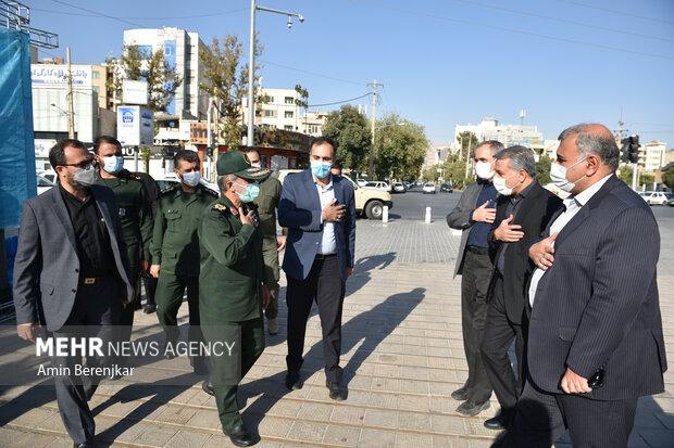 نمایشگاه آثار نخستین سوگواره ملی عکس «راه دل» در شیراز