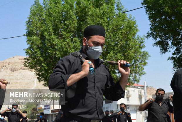 مراسم عزاداری اربعین حسینی (ع) در شهر لار