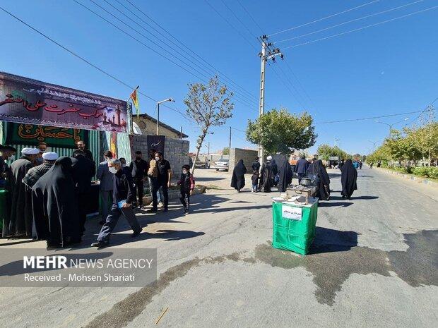 پیاده روی اربعین ۱۴۰۰ در شاهرود