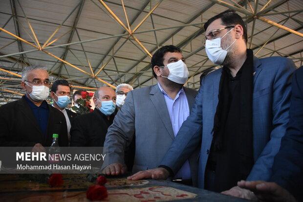 سفر  امیرحسین قاضیزاده هاشمی رئیس بنیاد شهید و امور ایثارگران به خوزستان