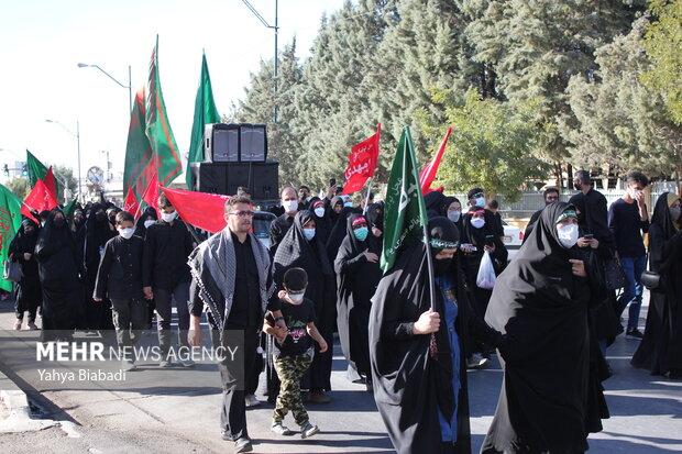 پیادهروی جاماندگان اربعین کرمانشاه