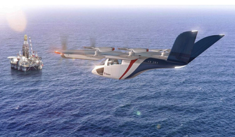 تاکسی هوایی برقی با سبک ترین سیستم انتقال قدرت جهان ساخته می شود