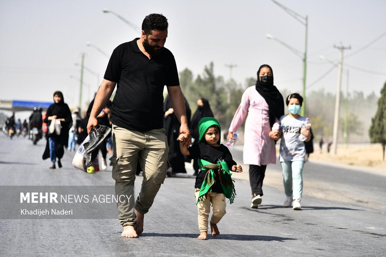 خروش جاماندگان اربعین در سراسر ایران/ تجلیگاه «حبالحسین یجمعنا»