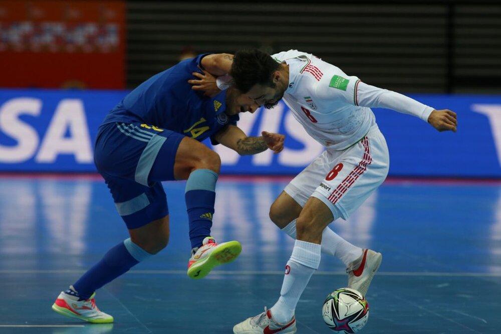 Kazakhstan defeats Iran Futsal in World Cup