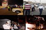 استقرار اکیپهای پلیس لرستان در راستای تسهیل بازگشت زائران اربعین