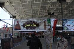 بازگشت زوار اربعین در مرز مهران با سهولت در حال انجام است