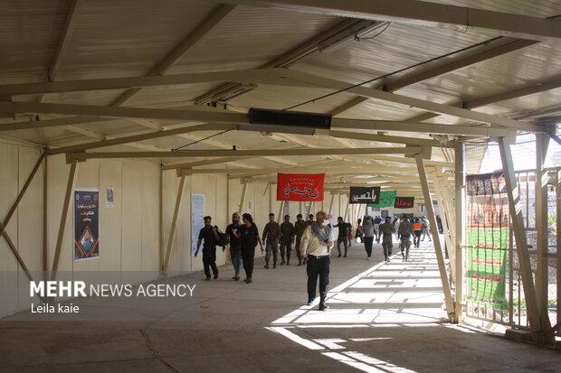 بازگشت زائران اربعین از طریق مرز مهران به داخل کشور