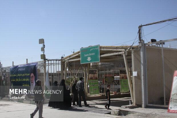 آمادگی دستگاه های خدمات رسانی در مرز مهران