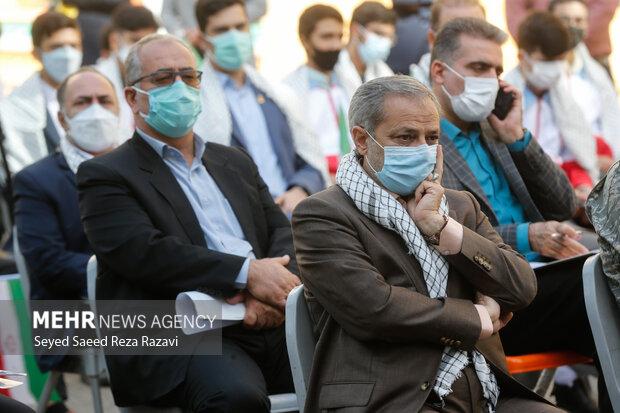 علیرضا کاظمی سرپرست وزارت آموزش و پرورش   در آئین زنگ ملی ایثار و مقاومت حضور دارد