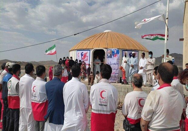 افتتاح ۵ مدرسه پیش ساخته در قالب طرح «نذر آب ۴» در مهرستان
