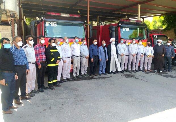 مسئولین مشکلات و کمبودهای آتشنشانان استان بوشهر را رسیدگی کنند