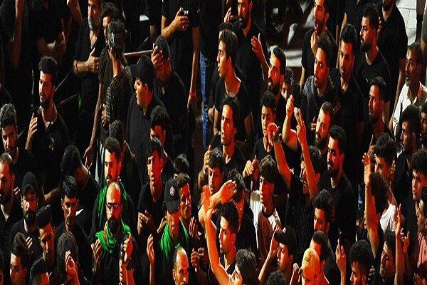 عزاداری افغانستانی های مقیم قم و مردم بصره در کربلای معلی