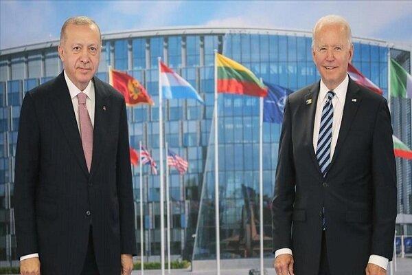 اردوغان و بایدن ماه آینده دیدار میکنند