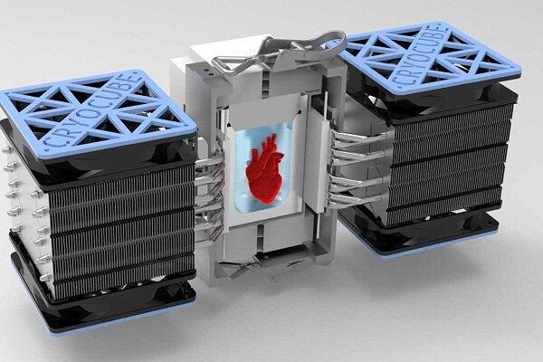 تولید محفظهای برای سرد نگهداشتن و احیای بافت زنده قلب