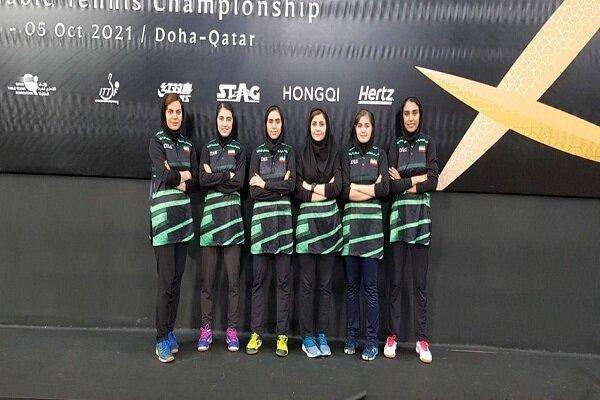 تیم ملی تنیس روی میز بانوان مقابل مالدیو پیروز شد