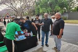 برگزاری آیین پیاده روی اربعین حسینی در زامبیا برای نخستین بار