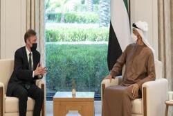 مقام ارشد آمریکایی با ولیعهد أبوظبی دیدار و گفتگو کرد
