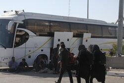 تردد ۱۰۳ هزار زائر از مرز مهران