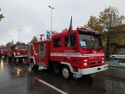 انجام ۱۶۵۸ عملیات توسط آتش نشانی کرمانشاه از ابتدای سال جاری
