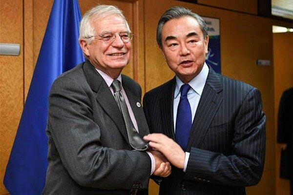 اتحادیه اروپا خواستار تعامل با چین در حوزه های مختلف  است