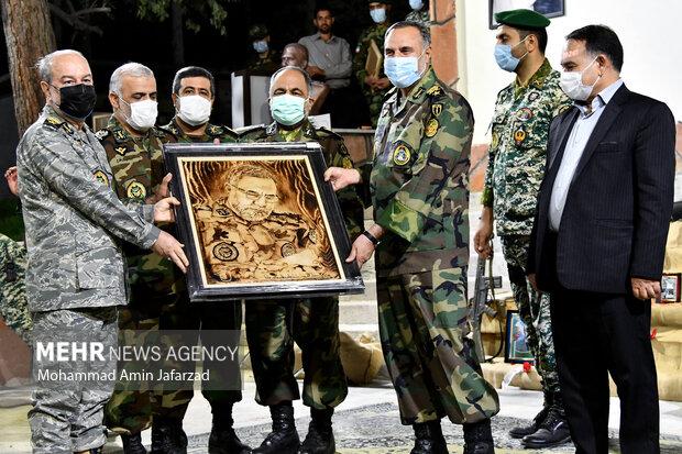 افتتاح نمایشگاه دایمی دفاع مقدس