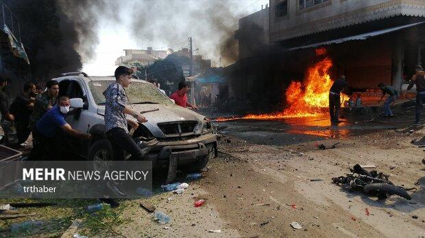 الاعتداءات الارهابية في جرابلس/ بالصور