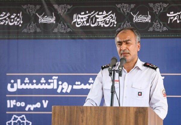 شهروندان تهرانی از خدمات آتشنشانی رضایت دارند