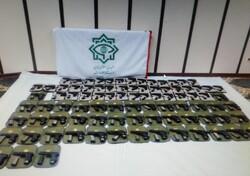 بیش از ۱۰۰ قبضه سلاح غیرمجاز در جوانرود کشف شد