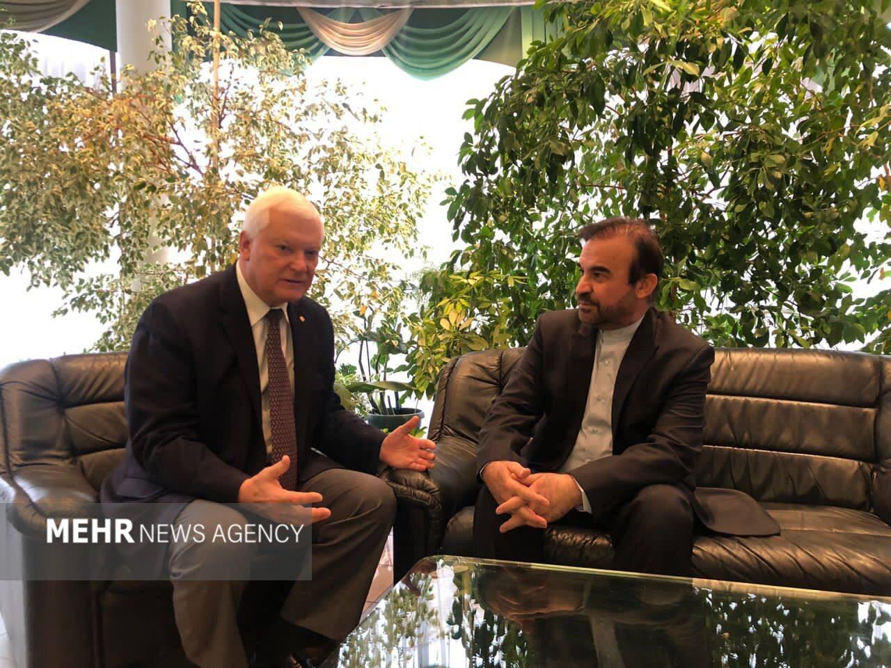 رایزنی دیپلمات ایرانی با نماینده پوتین/همکاریهای ۲جانبه بررسی شد