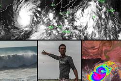سیستانوبلوچستان و هرمزگان زیر سایه طوفان/«شاهین» بر فراز عمان بال گشود